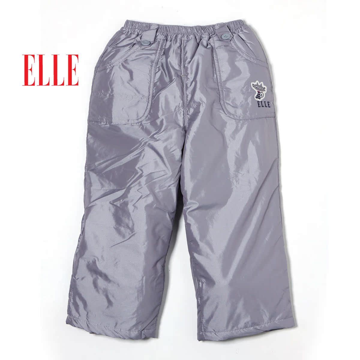 детские штаны Elle EW979458 80 Elle 84 Хизер Серый, 57 темно-синий Фибра Спортивный Кожаный пояс на талии