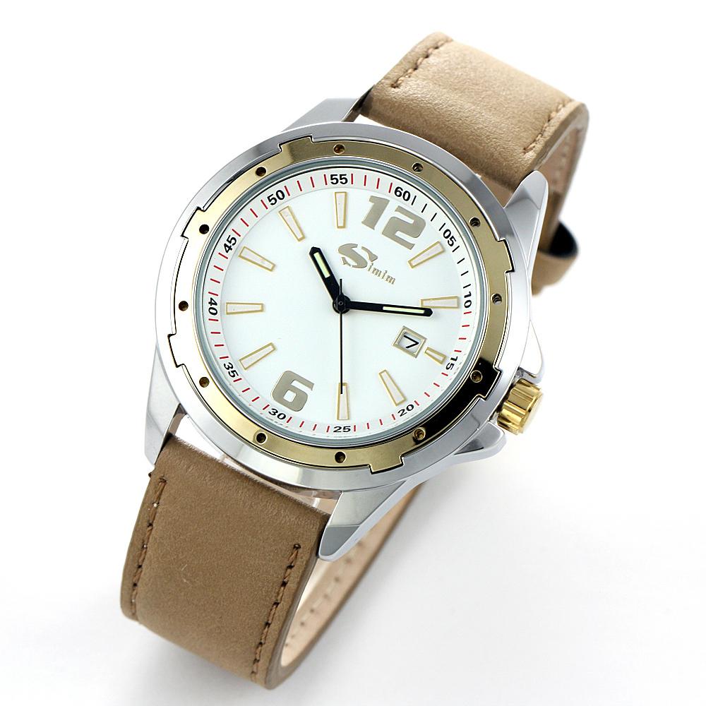 Часы SIMIM Кварцевые часы Мужские Китай 2012