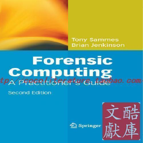 Тарелки   Sammes Forensic Computing Practioners Guide 2e (Spring