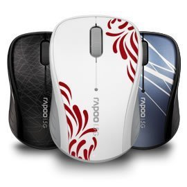 RAPOO / Pennefather 3100P 5G wireless mouse laptop mouse cute mouse