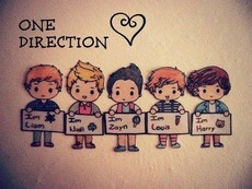 one direction 单向组合 on the road