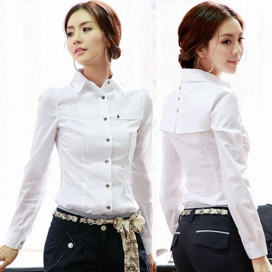 белые деловые блузки для женщин
