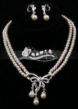 Топ Для новобрачных колье аксессуары бисером ожерелья Жемчуг невеста