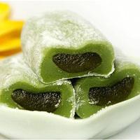 台湾进口雪之恋手造麻薯抹茶味108g糯米糍夹心手工糕点零食满包邮
