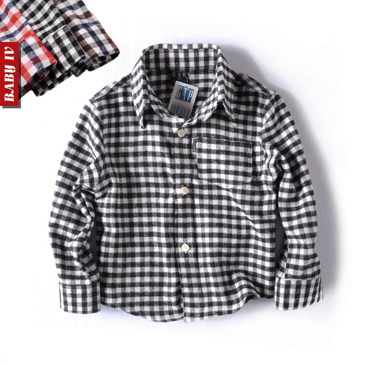 Рубашка детская OTHER 2012 Для молодых мужчин Хлопок (95 и выше) Весна-осень Рубашка с длинными рукавами % Отложной воротник