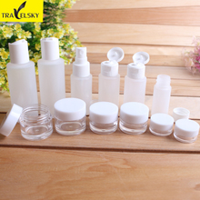 Cosmetic packaging bottle Partial essential lotion bottle wash cream box of 12 component spray bottle vacuum bottle suits