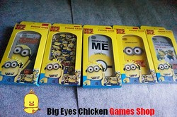 IPHONE 4S iphone4 神偷奶爸2 卑鄙的我2 Despicable Me 硅胶套