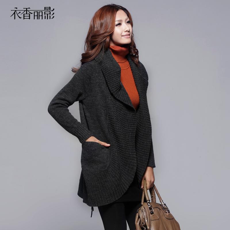 Свитер женский Yi Hong Li Ying 9189001 2012 599 овчина длинный рукав классический рукав с капюшоном