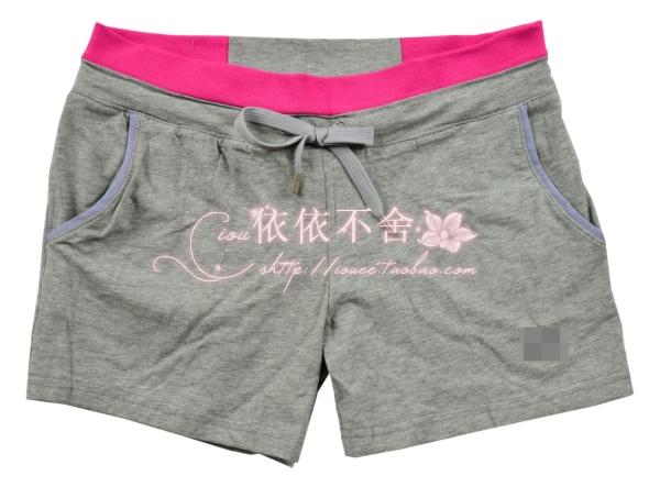 Штаны для фитнеса Iou 2420 2012 Шорты ( выше колена ) Женские Прямые Обычная 100% хлопок