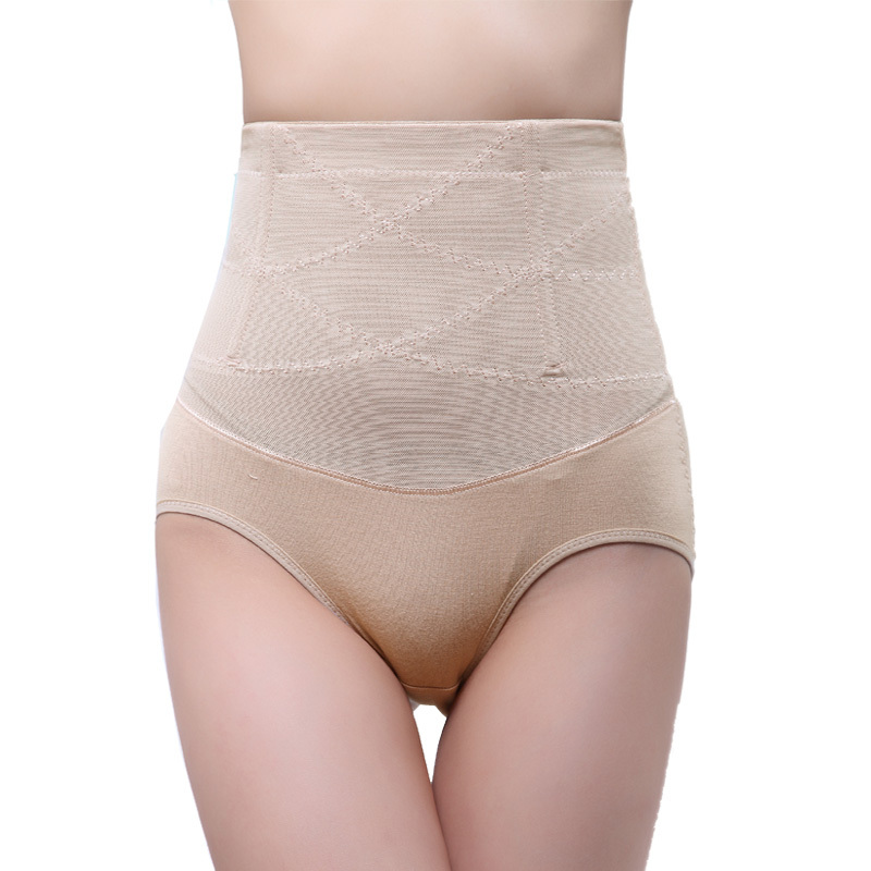 Ms. Gao Yao love diffuse double abdomen hips triangle plastic pants recoil pants body repair type 2102