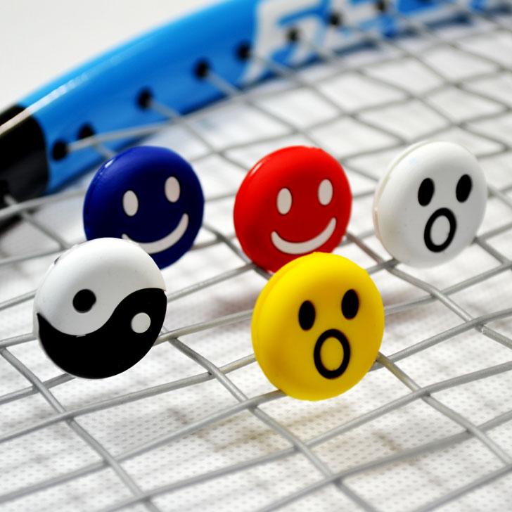 正品运动者笑脸网球拍避震器 减震器 可爱卡通鬼脸 效果佳
