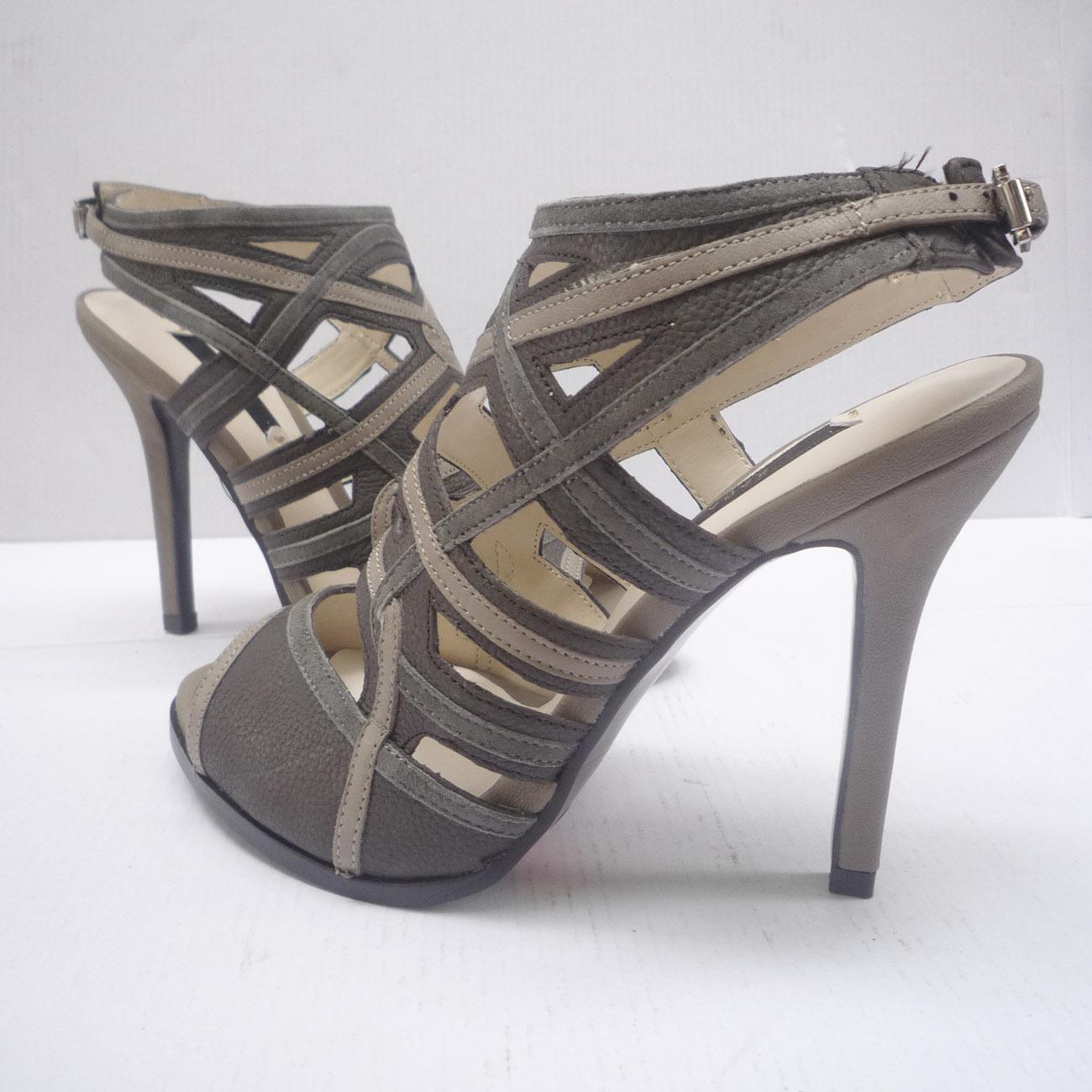 Босоножки 1024 Zara На высоком каблуке (6- 8 см)