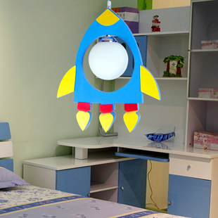 Children's creative cartoon chandelier lamp bedroom lamp warm bedroom children's room lighting lift lamp 5,011