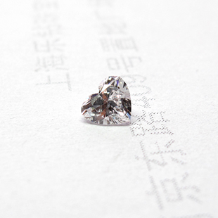钻石裸钻/心形钻【乐钻珠宝】GIA证书/0.502克拉/E色/IF
