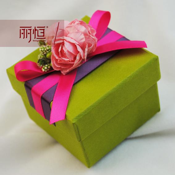 丽恒 硬纸板创意喜糖盒 欧式喜糖盒子 婚庆用品 个性结婚喜糖盒子