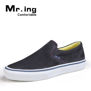Mr.ing Su small waves of new danxie warm spring fashion shoes suede leather leisure men shoes F1313