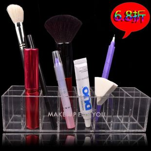 Beautiful said recommend genuine MAKE-UP FOR YOU jewelry box storage box/transparent lipstick box