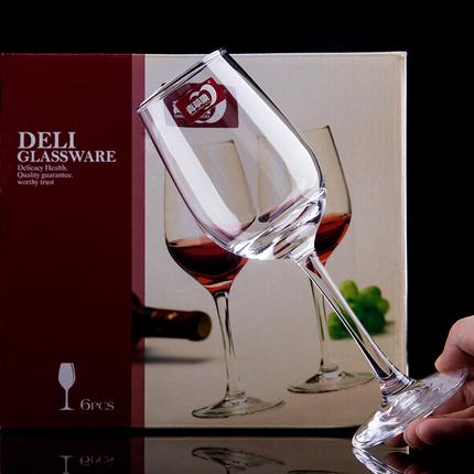 无铅水晶玻璃红酒杯260ml图片