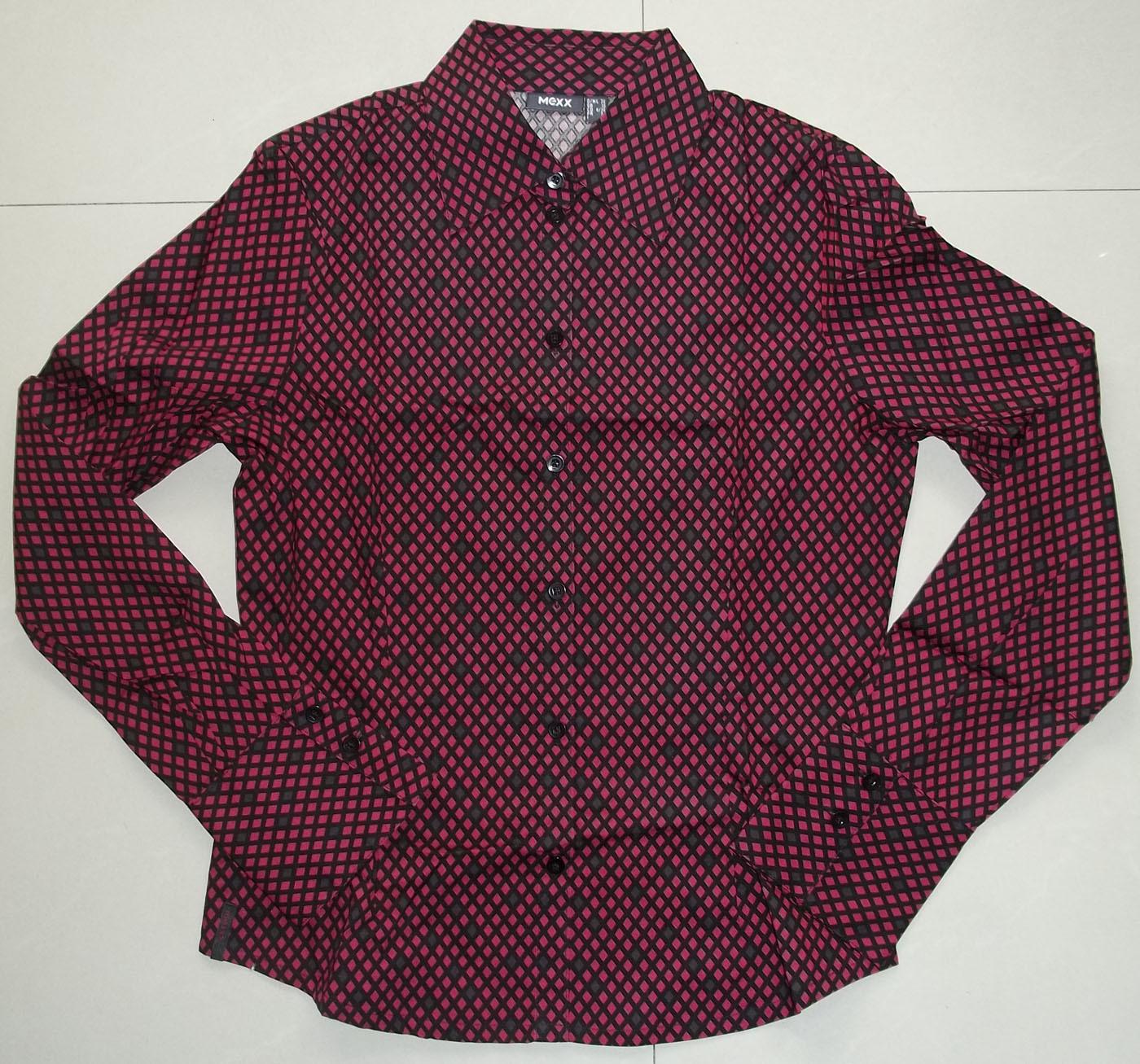 женская рубашка Mexx 100_2864 36 Городской стиль Длинный рукав