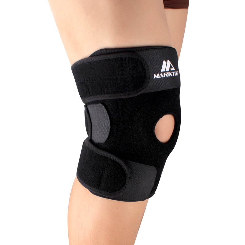 Two basketball knee pads sports protector spring package email Marktop outdoor climbing strengthened protection knee pads