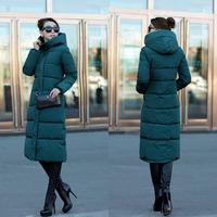2015新款特惠包邮上市冬季大款 超长版挡风雪韩版羽绒棉大衣 外套