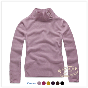 TAOSHI 2011 new winter clothing women's solid color half-high neck sweater TSWM04B10 1.07-50 percent