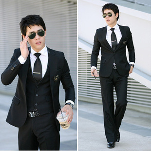 male models ultra luxury temperament leisure suits suit two-piece