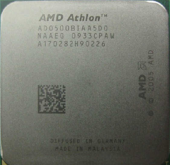 AMD(速龙双核)Athlon64 X2 5000+ 2.6G 1M AM2  CPU