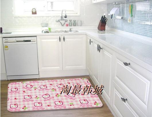 Коврик для ванной Южная Корея импортированных подлинной Привет Китти ванной мат подушку влагостойкие коврик среднего