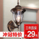 Crown [t] lighting outdoor lighting outdoor Wall lamp waterproof European corridor Wall lamp Wall lamp aisle balcony special offer