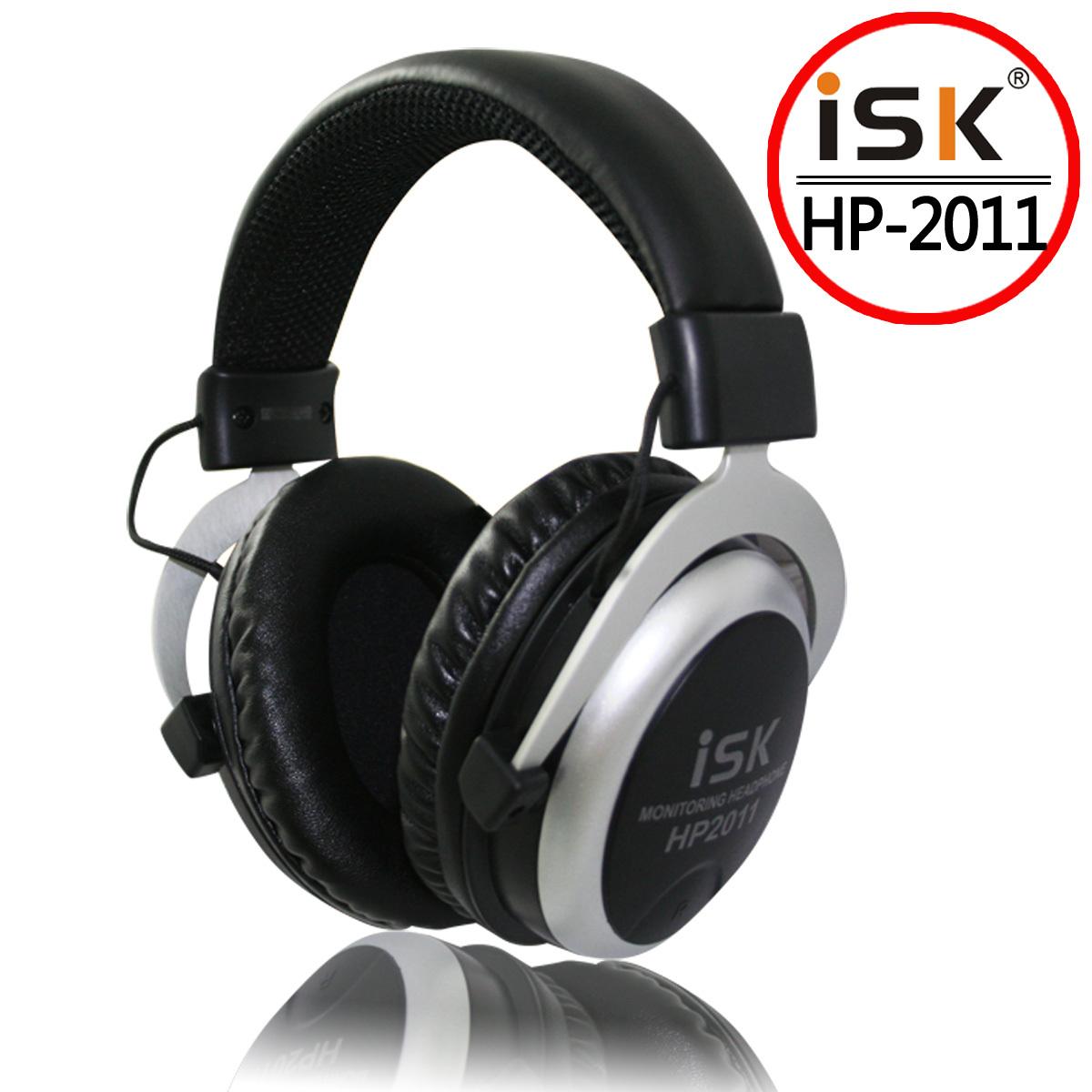 监听耳机/耳麦ISK HP-2011全封式包耳舒适型低阻抗录音K歌听音乐