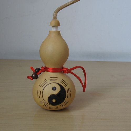 Изделия из тыквы Естественный тыква тыквы Фэн-шуй открытия подъем подъем тайцзи