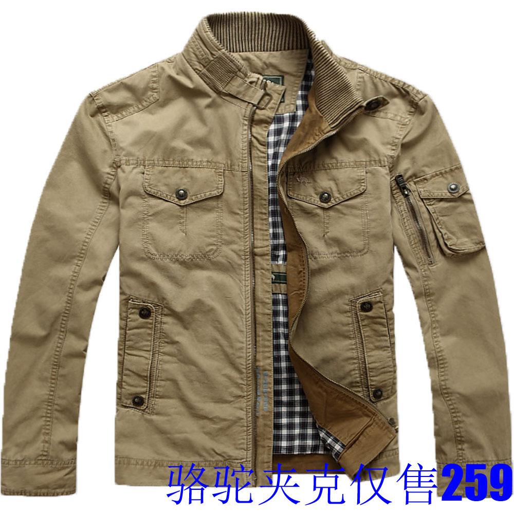 Куртка Other 2001 CAMEL Хлопок без добавок Хлопок Воротник-стойка Повседневный стиль