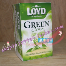 Hong Kong bought Poland loyd green, green and white tea aloe flavour of 1.7 g * 20 bag tea bag imported green tea