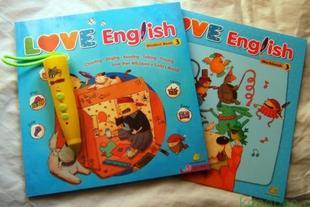 love english 3 level3 全新点读版