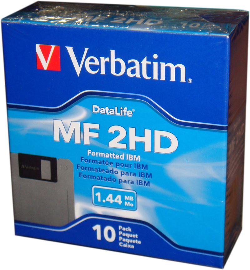 Дискеты   Verbatim 3.5 3.5