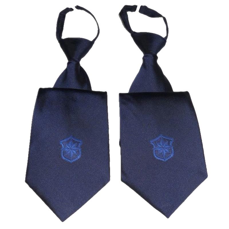 Спецодежда Василек синий галстук Аксессуары одежды галстук безопасности Униформа для безопасности для безопасности скольжения молнии галстук Для охранников
