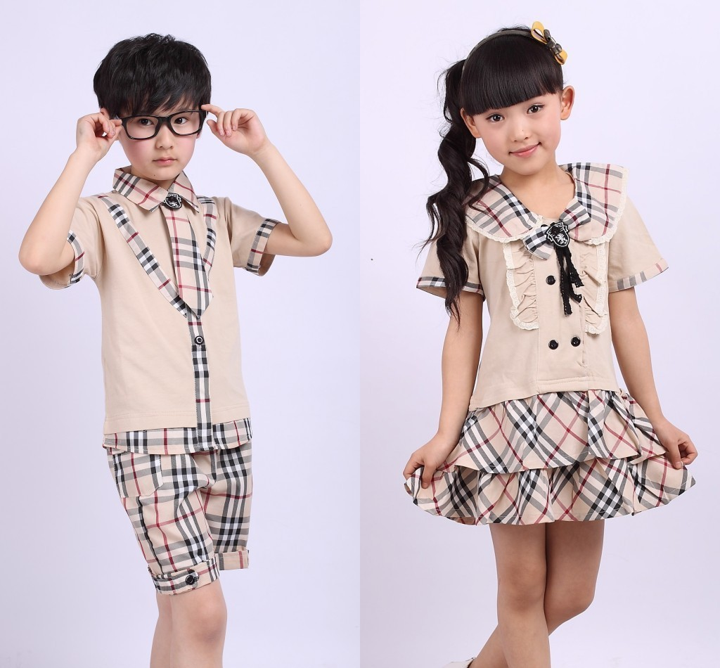 school uniform in primary school uniforms suit garden clothes Korean ...