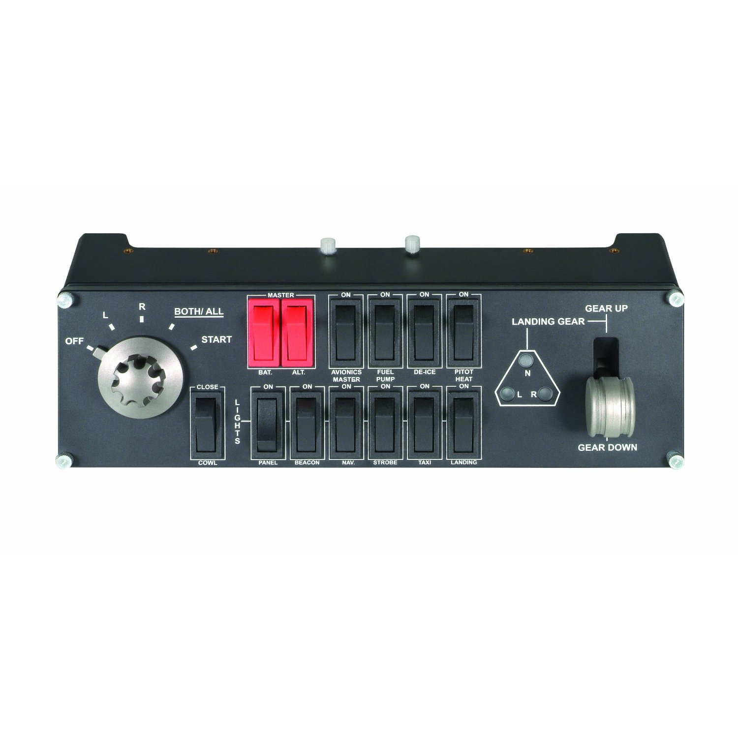 【国外代购】Saitek Pro Flight Switch Panel (MC-SWIP)(PZ55)