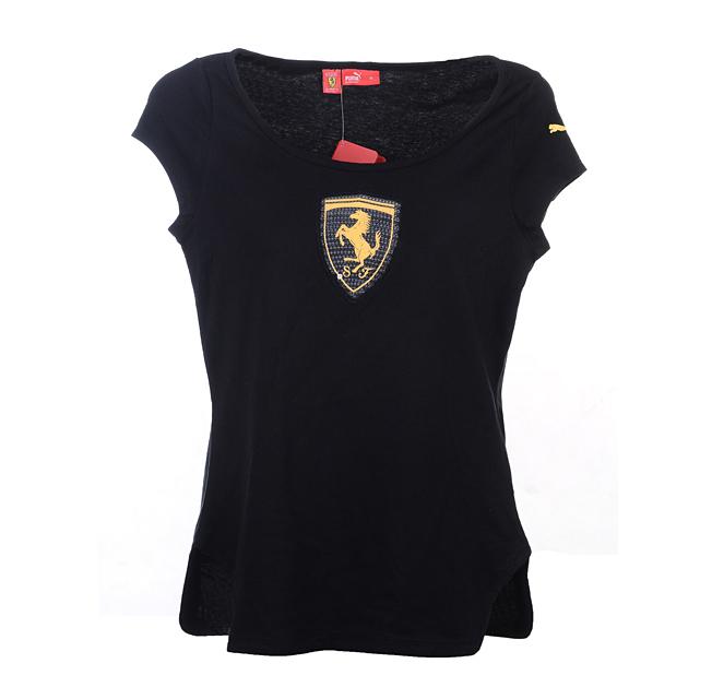 Спортивная футболка Puma 555002 01 2PU555002-01 Стандартный Воротник-стойка 100 хлопок Для спорта и отдыха