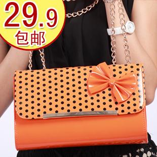 淘金币 卡罗蜜2012夏季女包新款包邮韩版单肩斜挎包糖果色小包包