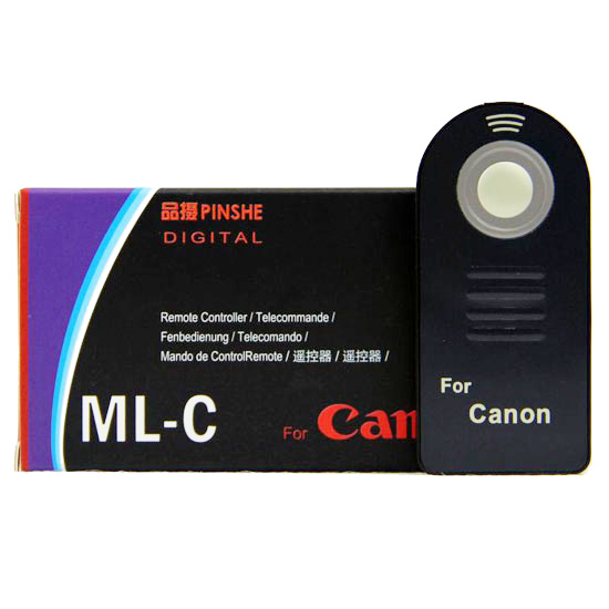 遥控器 For Canon 450D 350D 400D RC-5 60D 7D 550D 600D