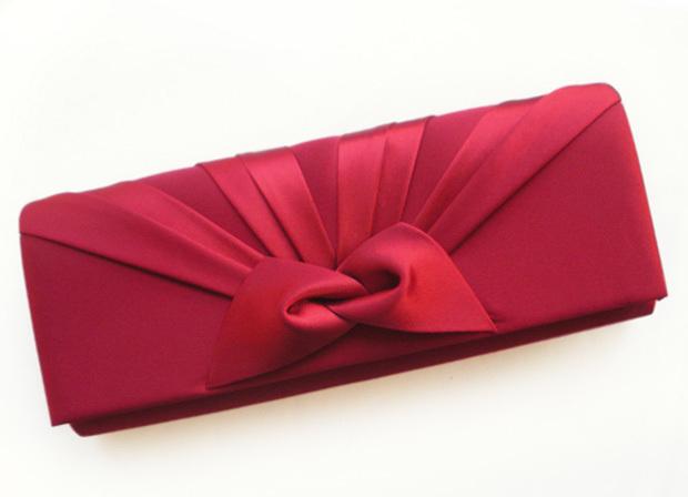 【新款】Iber领结晚装包礼服包宴会包手拿包新娘包伴娘包晚宴包红