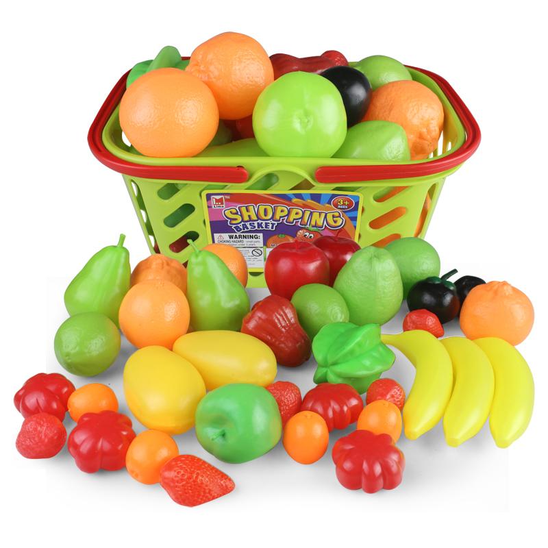 仿真蔬菜水果模型玩具 儿童早教认知益智过家家道具玩具组合套装
