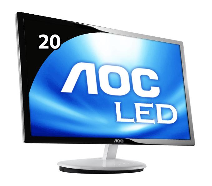 ЖК-монитор Aoc  E2043F/20 LED