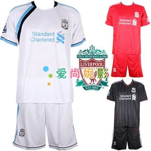 Liverpool Football shirts with short sleeves Red Army team football clothes suit children's football game clothing clothes