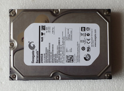 Seagate / Seagate ST2000DM001 2T bad hard drive retirement desktop machine hard drive