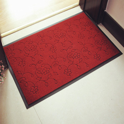 Essential household dust home carpet entrance door PVC slip mats can be customized outdoor Cengceng