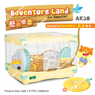 Adventure park hamster cage hamster villa large double Golden Crown guarantee genuine supplies rushed four fabulous