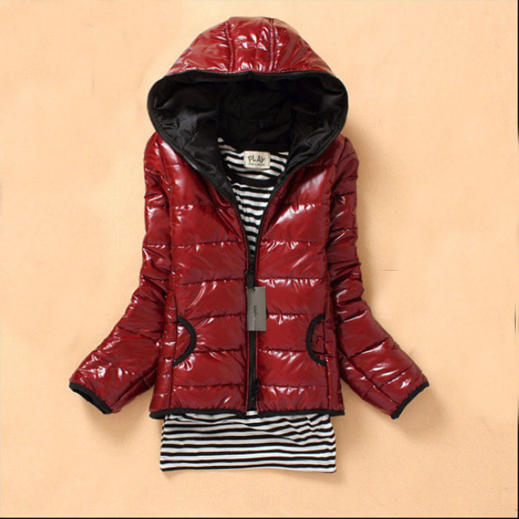 Женская утепленная куртка 2012 Облегающий покрой Длинный рукав Зима 2011